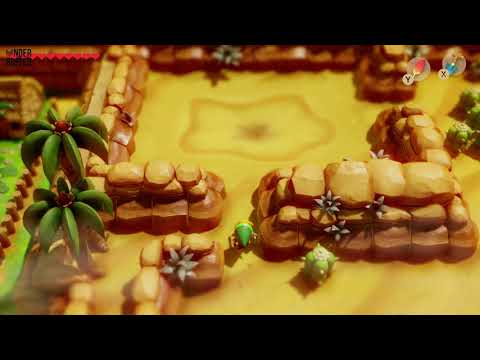 Link's Awakening - Secret Seashell (Yarna Desert)
