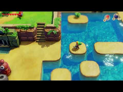 Link's Awakening - Secret Seashell (Ukuku Prairie)