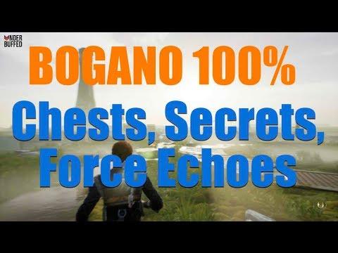 Star Wars Jedi Fallen Order - Bogano 100% (Chests, Secrets, Force Echoes, Databank)