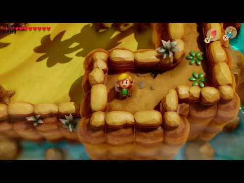 Link's Awakening - Secret Seashell Location (Yarna Desert)