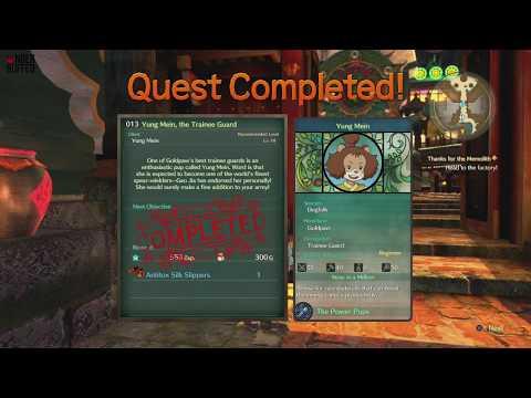 [Ni No Kuni 2] Side Quest #13 - Yung Mein, the Trainee Guard (Citizen 51 Yung Mein)