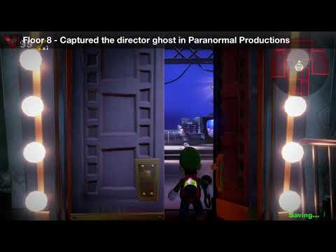 Luigi's Mansion 3 - Floor 8 Achievement - Captured the director ghost in Paranormal Productions