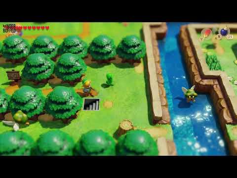 Link's Awakening - Heart Piece (Ukuku Prairie)