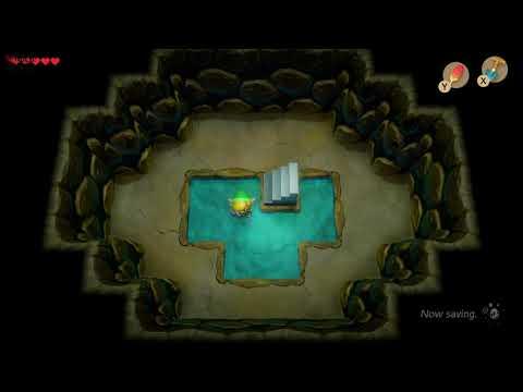 Link's Awakening - Heart Piece Location (Mabe Village Well)