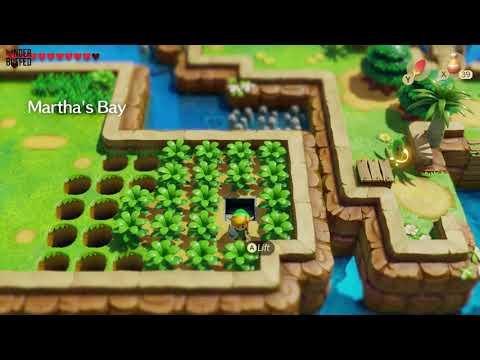 Link's Awakening - Heart Piece Location (Martha's Bay)