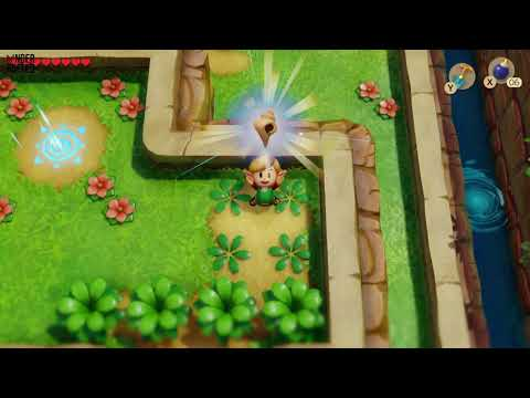 Link's Awakening - Secret Seashell (Seashell Mansion)