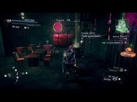 [Astral Chain] File 06 - Photo Order: Upper's Delight Location