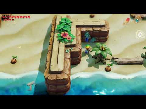 Link's Awakening - Secret Seashell (Toronbo Shores)