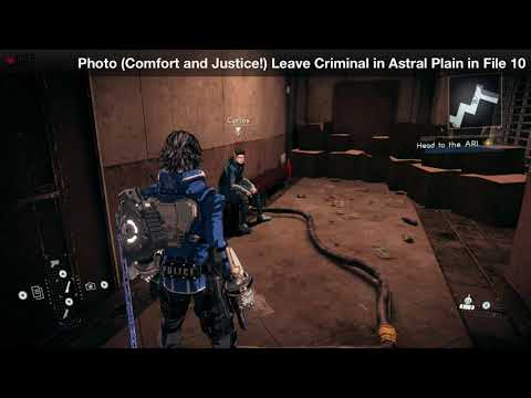 [Astral Chain] File 11 - Photo Order Location