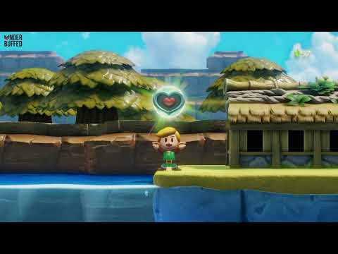 Link's Awakening - Heart Piece (catch a big fish)