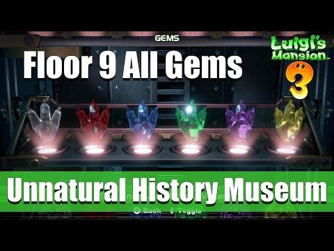 Luigi's Mansion 3 - 9F All Gem Locations