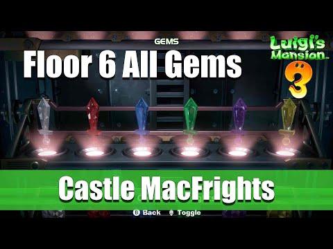 Luigi's Mansion 3 - Floor 6 All Gem Locations
