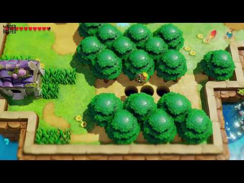 Link's Awakening - Secret Seashell (Martha's Bay Ghost House)