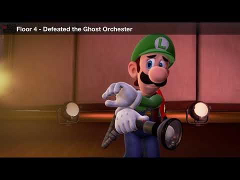 Luigi's Mansion 3 - Defeated the Ghost Orchester