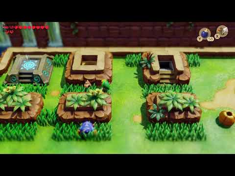Link's Awakening - Secret Seashell Location (Tal Tal Heights)