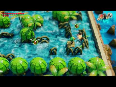 Link's Awakening - Secret Seashell Location (Rapids Ride)