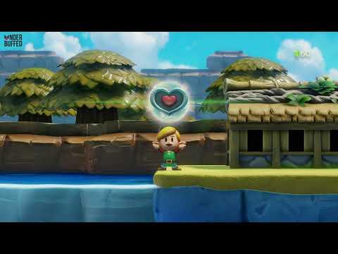 Link's Awakening - Heart Piece (catch a small fish)