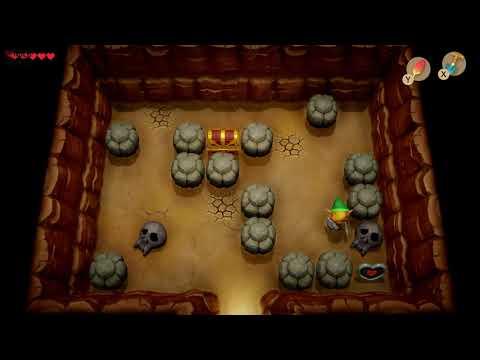 Link's Awakening - Heart Piece Location (Ukukue Prairie)