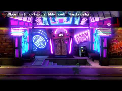 Luigi's Mansion 3 - Floor 14 Achievement - Snuck into the hidden vault in the dance hall