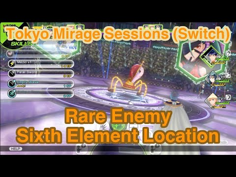 Rare Enemy Location - Tokyo Mirage Sessions Encore
