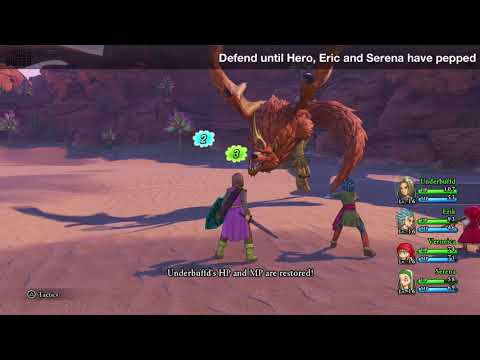 [Dragon Quest XI] A Walk on the Wild Side Side Quest Guide