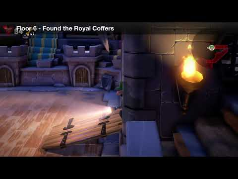 Luigi's Mansion 3 - Floor 6 Achievement - Found the royal coffers in the Castle MacFrights