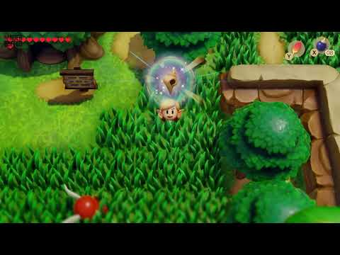 Link's Awakening - Secret Seashell Location (Ukuku Prairie)