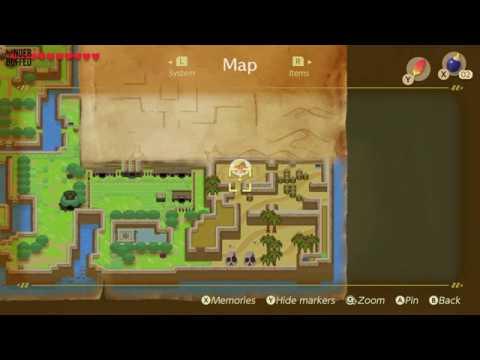 Link's Awakening - Heart Piece Location (Yarna Desert)