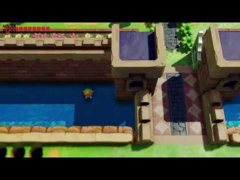 Link's Awakening - Heart Piece Location (Kanalet Castle)