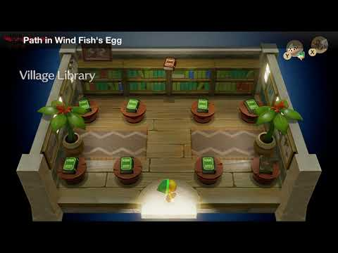Link's Awakening - Trade Quest (Path in Wind Fish's Egg)