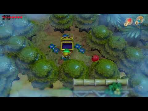 Link's Awakening - Secret Seashell (Mysterious Forest)