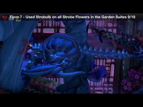 Luigi's Mansion 3 - Floor 7 Achievement - Used Strobulb on all Strobe Flowers in the Garden Suites