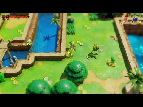 Link's Awakening - Secret Seashell Location (Martha's Bay)