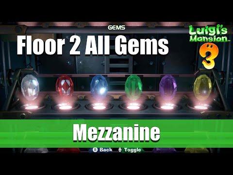 Luigi's Mansion 3 - 2F All Gem Locations