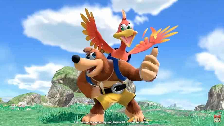 Smash Ultimate - Banjo-Kazooie