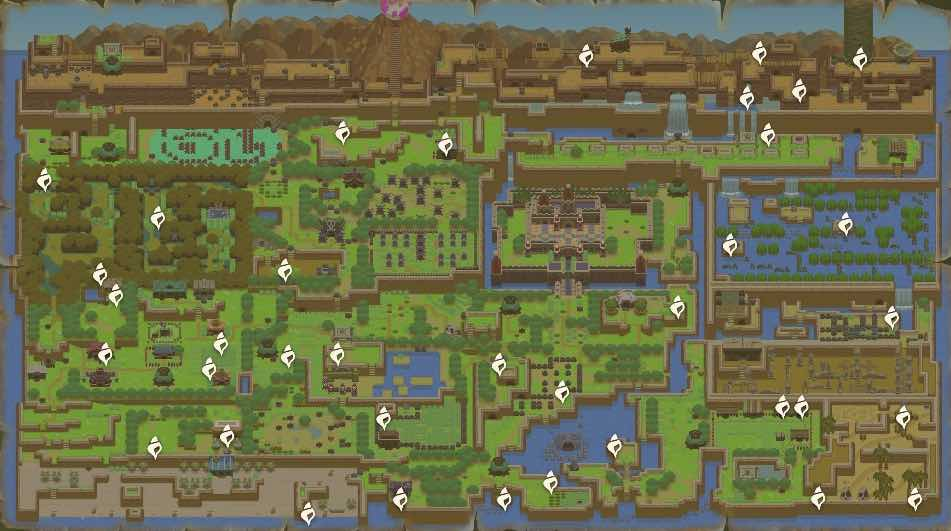 Link's Awakening Secret Seashell Locations