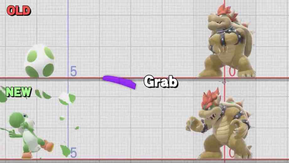 Smash Ultimate - Grab buffering