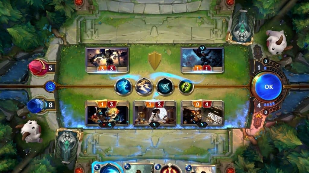 Legends of Runeterra is a free-to-play strategy card game in the universe of League of Legends.