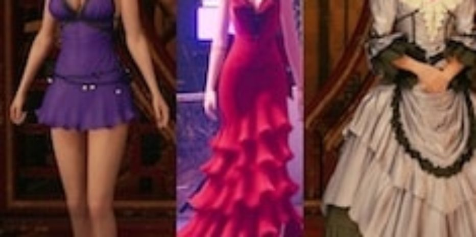 How to get all dresses in Final Fantasy 7 Remake